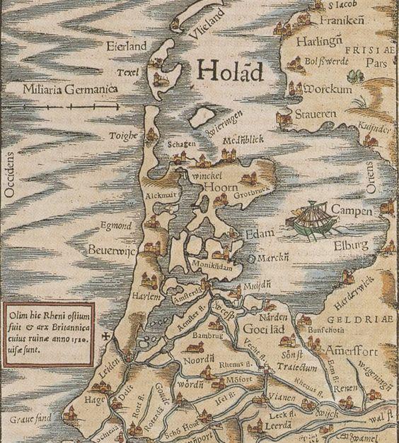 <p>Kaart Noord-Holland</p>